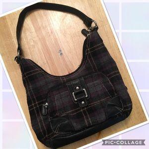 Handbags - Plaid Handbag